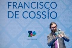 Premio Cossío 2018. Dedicatoria para la familia. Autor: Nacho Gallego.