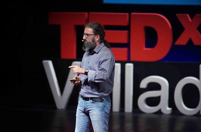 Ponencia en la séptima edición de TEDxValladolid, en el LAVA, en la sala Concha Velasco. FOTO NACHO CARRETERO-TEDXVALLADOLID